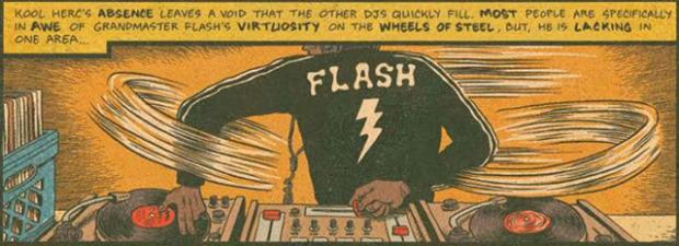 Grandmaster Flash DJing