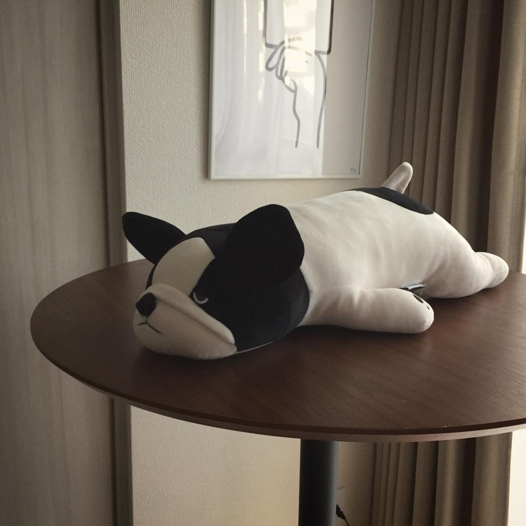 フレンチブルドッグの抱枕