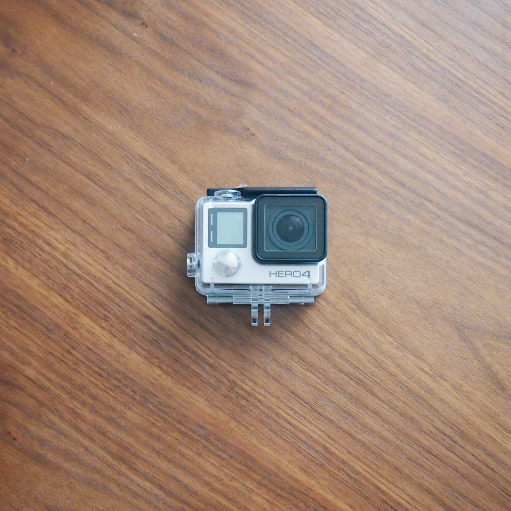 アクションカメラ「ゴープロ」(GoPro HERO4 Silver Edition)