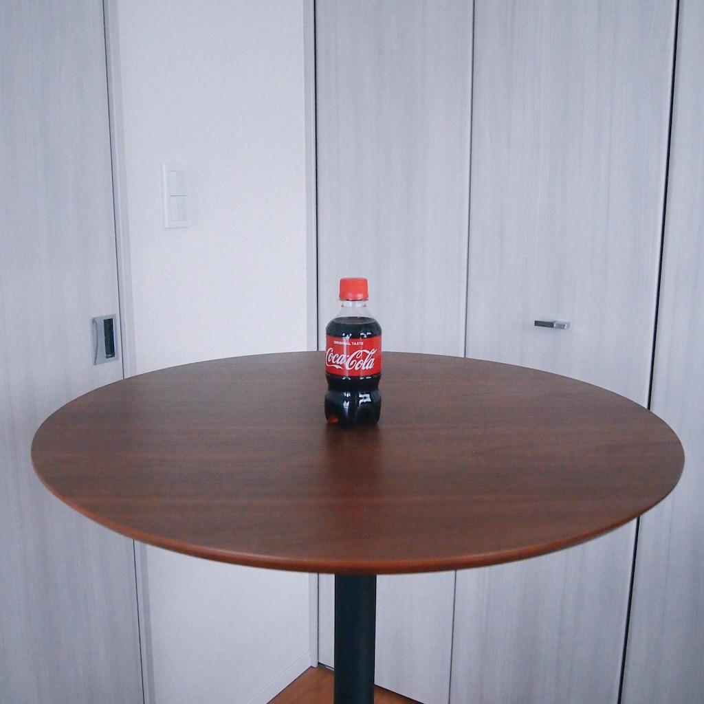 ミニペットボトルのコカ・コーラ