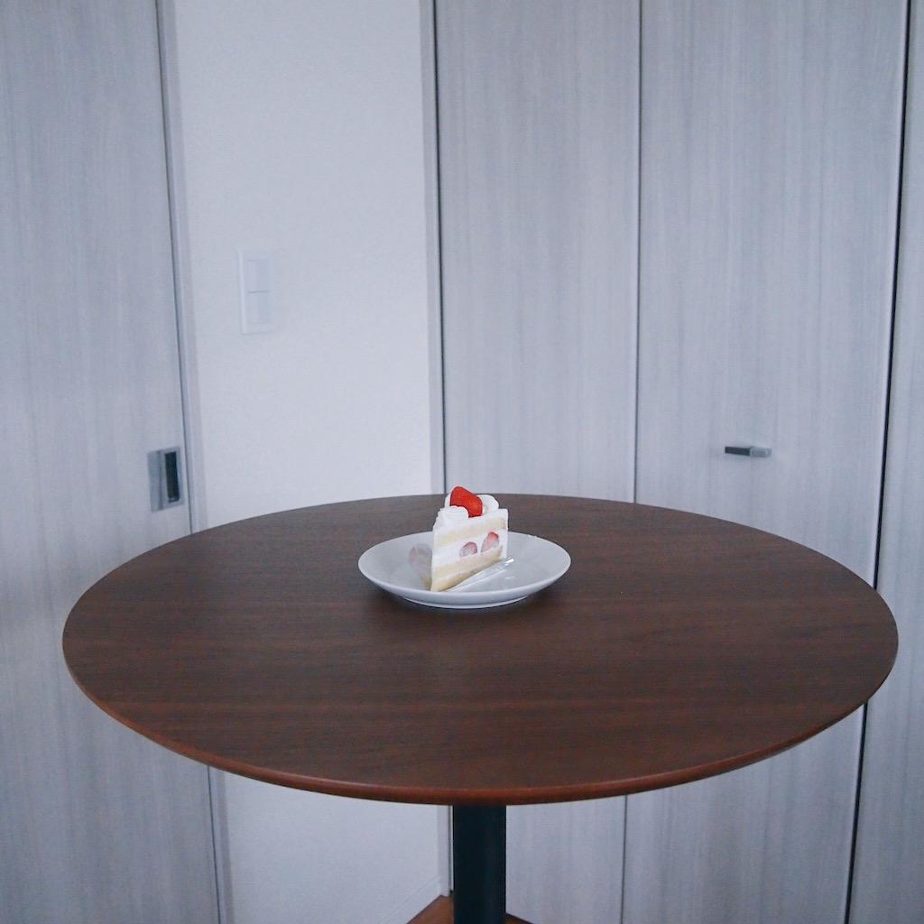 スイーツパラダイスで買ったいちごショートケーキ