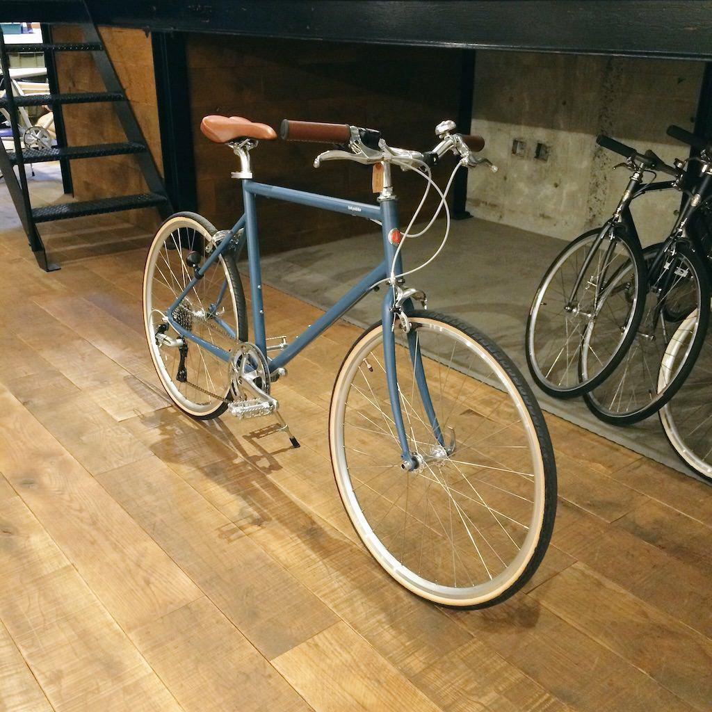 Tokyobike26。色はブルーグレー。